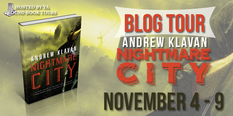 Blog Tour + Giveaway: Nightmare City