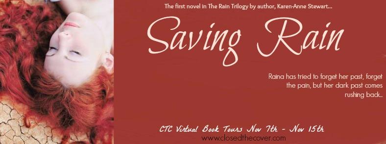 Blog Tour + Giveaway:  Saving Rain