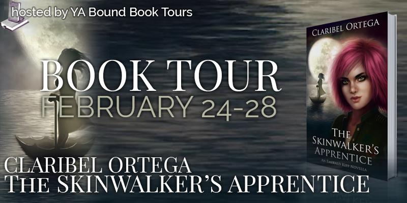 The Skinwalker's Apprentice Blog Tour + Giveaway