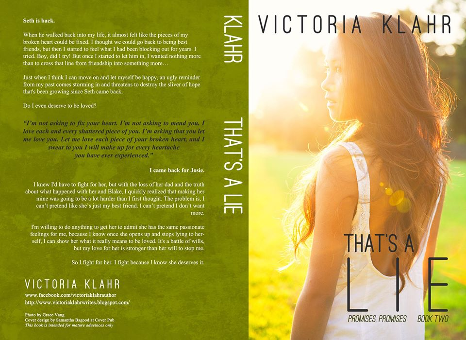 Cover Reveal – That's A Lie