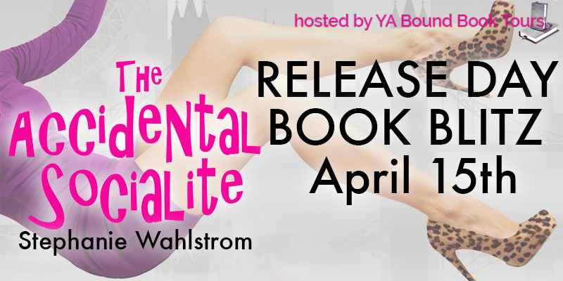 The Accidental Socialite Book Blitz + Giveaway