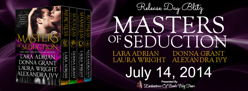 Masters of Seduction Release Day Blitz