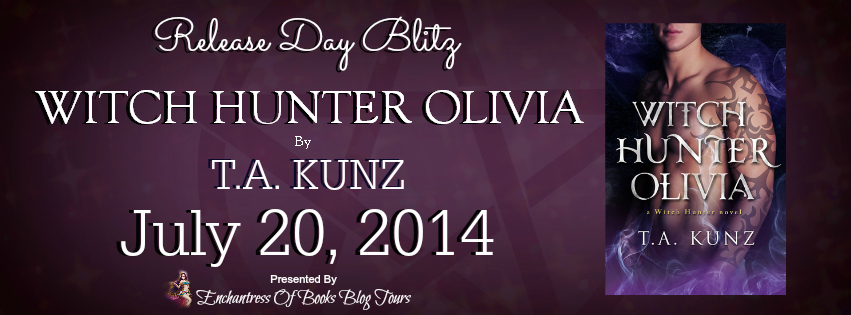 Witch Hunter Olivia – Release Day Blitz