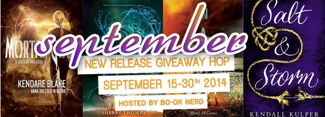 September 2014 New Release Giveaway Hop
