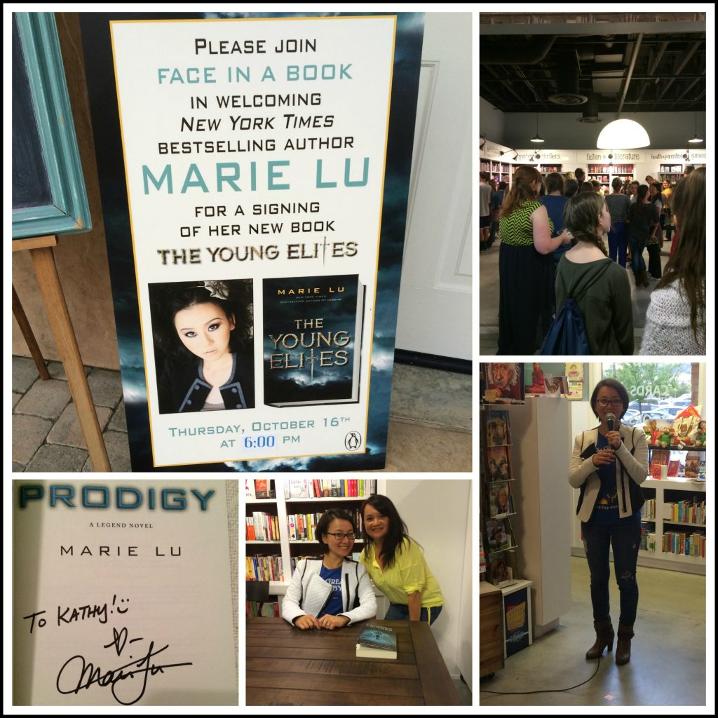 Marie Lu Book Signing