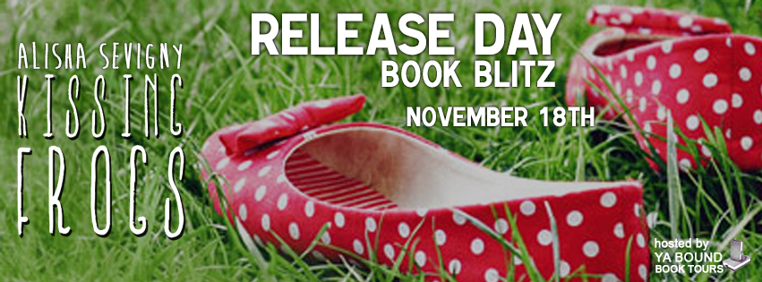 Kissing Frogs – Release Day Blitz & Giveaway