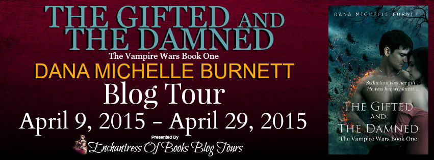The Gifted and The Damned Blog Tour – Character Bio & Giveaway