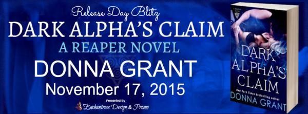 Release Day Blitz – Dark Alpha's Claim