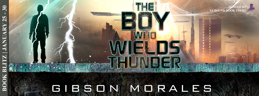 Book Blitz – The Boy Who Wields Thunder
